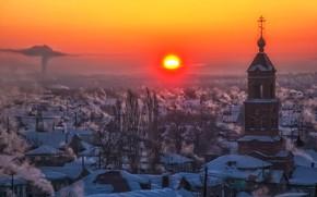 Картинка природа, Зима, Россия, Орск, Оренбуржье