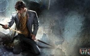 Картинка weapon, man, ken, blade, book, supernatural, hunter, The Mortal Instruments, The Mortal Instruments: City of …