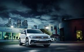 Обои Volkswagen, фольксваген, Tiguan, Sportline, тигуан