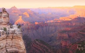 Картинка Природа, Горы, Панорама, Скала, США, Гранд-Каньон Парк