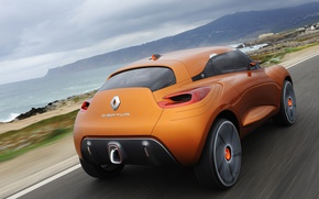 Картинка дорога, concept, Renault, captur