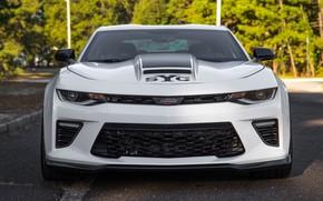 Картинка Chevrolet, Camaro, вид спереди, 2018, YenkoSC, Stage II, SVE