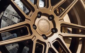 Картинка макро, диск, автомобиль, BMW M4