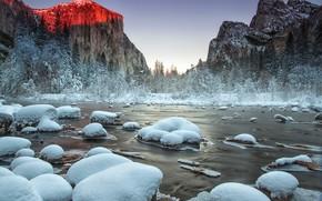 Картинка природа, Yosemite National Park, Gates of the Valley
