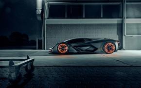 Картинка Lamborghini, Light, Side, Hypercar, Terzo Millennio