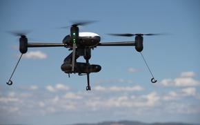Картинка sky, cloud, camera, technology, drone, kumo, Draganflyer Guardian