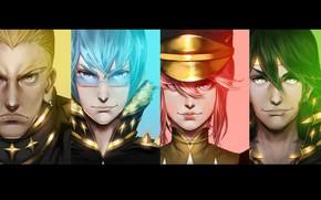 Картинка anime, man, japanese, uniform, seifuku, Kill la Kill