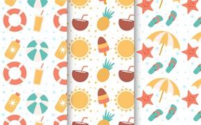 Обои фон, текстура, summer, patterns