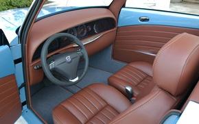 Картинка Volvo, руль, сиденья, салон, Caresto