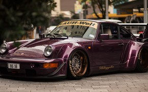 Картинка 911, wide body, porschce, Porsche 964