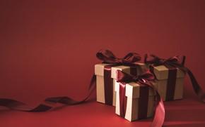 Картинка праздник, подарок, лента, бант