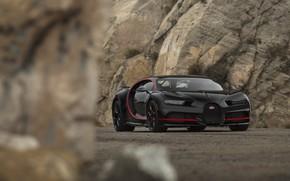 Картинка Bugatti, Black, RED, V16, Stones, VAG, Chiron