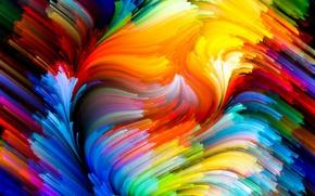 Обои краски, colors, colorful, abstract, rainbow, background, splash, painting