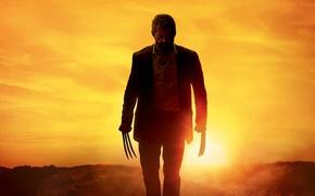 Обои cinema, Wolverine, Hugh Jackman, X-Men, Logan, man, Marvel, movie, film
