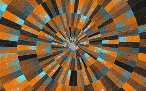 Картинка краски, спираль, текстура, знаки, объём