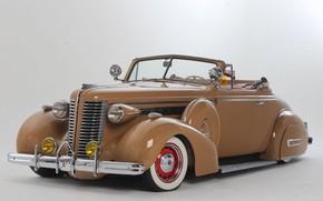 Обои Custom, 1938, Buick, Lowrider, Convertible