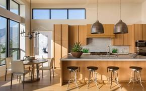 Картинка интерьер, кухня, столовая, Modern View Home, by DTM Interiors