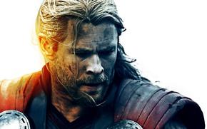Картинка cinema, Marvel, movie, hero, film, Chris Hemsworth, god, uniform, yuusha, seifuku, cape, Walt Disney Studios …