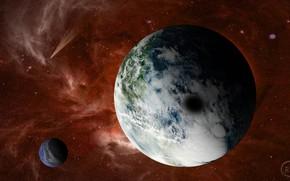 Картинка космос, планеты