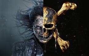 Картинка Фильм, Movie, Пираты Карибского Моря:, Pirates Of The Caribbean: Dead Men Tell No Tales, Мертвецы …