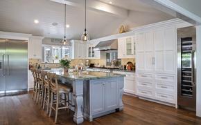 Картинка стол, мебель, кухня, особняк, Design, Interior, Kitchen
