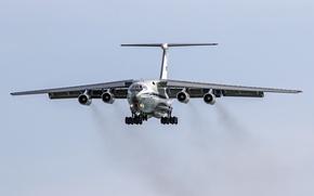 Картинка самолёт, военно-транспортный, тяжёлый, IL-76MD
