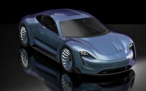 Картинка авто, дизайн, стиль, Porsche
