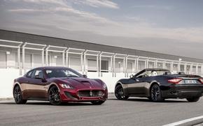 Картинка Maserati, Автомобиль, GranTurismo, Sport, Special Edition, GranCabrio, Металлик
