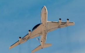 Картинка самолёт, дальнего, обнаружения, радиолокационного, Boeing E-3 Sentry