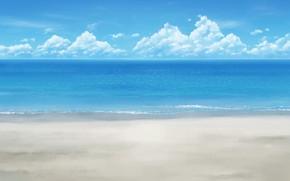 Картинка море, лето, небо