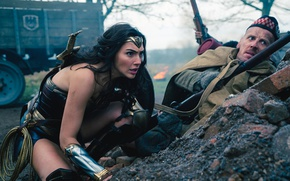 Картинка cinema, film, armor, weapon, ken, rifle, sword, soldier, blade, movie, Wonder Woman, Lasso of Truth, ...