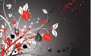 Картинка абстракция, background, floral