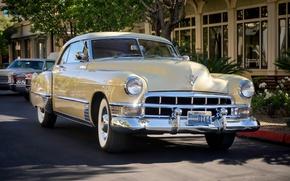 Картинка ретро, Cadillac, классика, 1949, Series 62