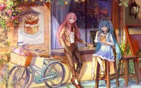Картинка девушки, аниме, Вокалоид