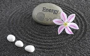 Обои философия, камень, Дзен, Zen, Япония, energy, sand monk, garden, сад, Japan, энергия, цветы, stone