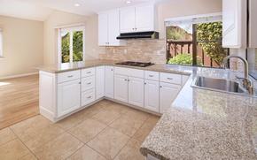 Картинка мебель, окно, кухня, Design, Interior, Kitchen