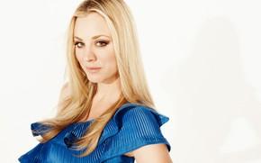 Картинка актриса, блондинка, Kaley Cuoco