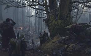Обои vilius petrauskas, Римская экспедиция, Тевтобургский лес, tumulus of germanicus