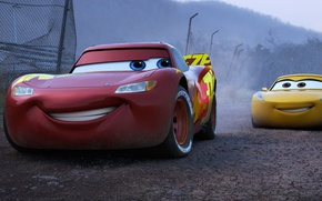 Картинка car, Disney, Pixar, cars, animated film, Owen Wilson, animated movie, Cars 3