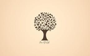 Картинка текст, коллаж, дерево жизни
