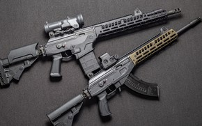 Обои кастом, АР-15, AR-15, weapon, Gun, Galil, Custom, Галил, Штурмовая винтовка, Assault Rifle, Автомат, оружие