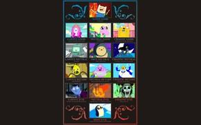 Картинка Джек, Jake, Adventure Time, Время Приключений, Марселин, Finn, BMO, Финн, Ice King, Cartoon Network, Принцесса …