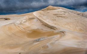 Картинка небо, природа, пустыня, дюны