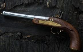 Картинка Queen Anne pistol, кремневый, Пистолет королевы Анны