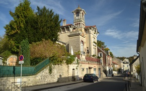 Картинка Франция, France, Chateau Pierrefonds, Замок Пьерфон