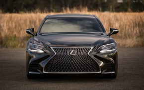 Обои Lexus, Japan, Front, Sight, LED, LS500