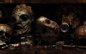 Картинка cinema, skull, horror, dead, movie, death, fear, assassin, film, mask, skin, terror, serial killer, leatherface, …