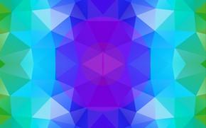 Обои абстракт, фигуры, симметрия