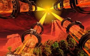 Картинка сооружения, tubes, Timecapsule Projection, Lost technology from the late Maya-period
