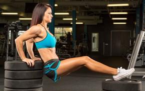 Картинка pose, workout, fitness, gym